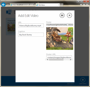 addeditvideoscreenadded